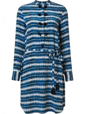 Gilette striped dress Figue. Цвет: синий