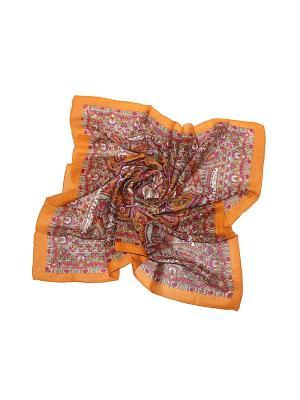 Платок Ethnica. Цвет: оранжевый, фуксия