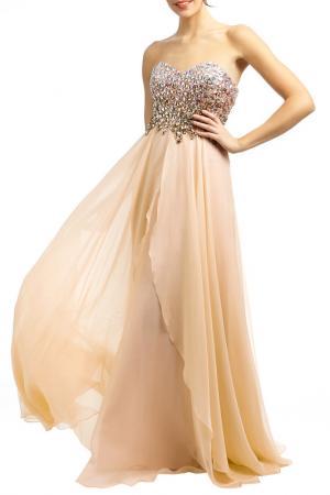 Платье YASMIN. Цвет: розовый