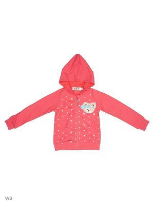 Толстовка Kidly. Цвет: малиновый, розовый