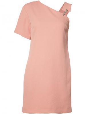 Платье Caribiner Nomia. Цвет: розовый и фиолетовый