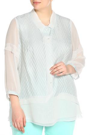 Блуза Terra. Цвет: мятный