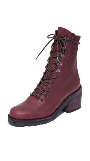 Армейские ботинки на ребристой подошве LD Tuttle. Цвет: краска