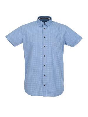 Рубашка Pre End (Дания) 34-100193. Цвет: голубой