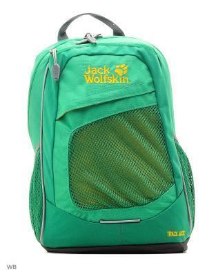 Рюкзак TRACK JACK Wolfskin. Цвет: зеленый