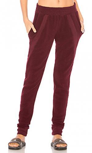Спортивные брюки warmth Vimmia. Цвет: вишня