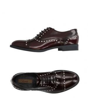 Обувь на шнурках GENEVE. Цвет: темно-коричневый