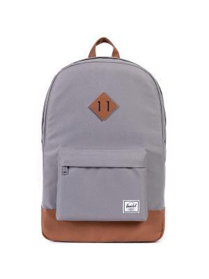 Рюкзак HERITAGE (A/S) Herschel. Цвет: серый,светло-коричневый