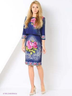 Комплект одежды TOPSANDTOPS. Цвет: темно-синий