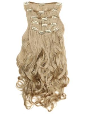 Накладные волосы, пряди на заколках-клипсах Lana VIP-PARIK. Цвет: светло-желтый