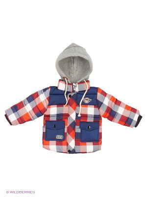 Куртка Kidly. Цвет: белый, темно-синий, красный