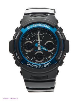 Часы G-SHOCK AW-591-2A CASIO. Цвет: черный