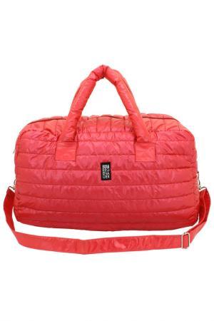 Дорожная сумка F|23. Цвет: красный