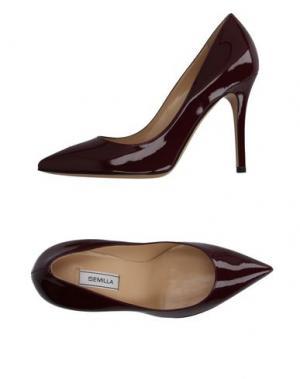 Туфли SEMILLA. Цвет: пурпурный