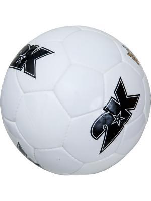 Мяч футбольный Merkury 2K. Цвет: белый, черный
