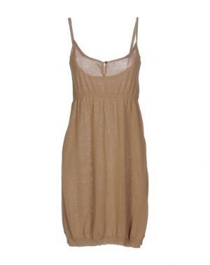 Короткое платье APPARTAMENTO 50. Цвет: хаки