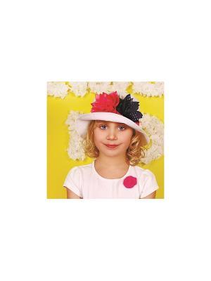 Шляпа DEMBOHOUSE. Цвет: малиновый