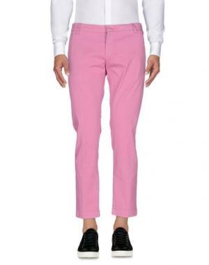 Повседневные брюки ENTRE AMIS. Цвет: пастельно-розовый