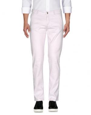 Джинсовые брюки BARBA NAPOLI. Цвет: светло-розовый