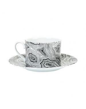 Для чая и кофе FORNASETTI. Цвет: черный
