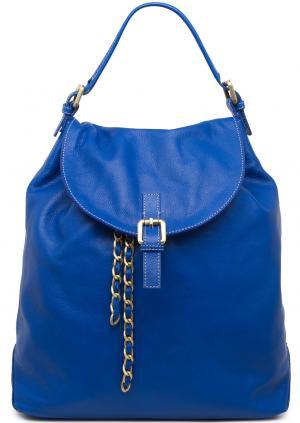 Рюкзак Io Pelle. Цвет: синий