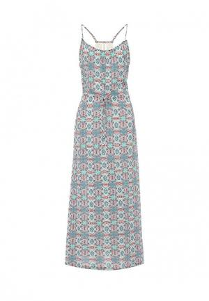 Платье Roxy. Цвет: голубой