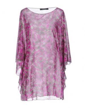 Блузка FISICO-CRISTINA FERRARI. Цвет: розовато-лиловый