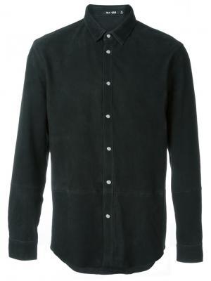 Замшевая рубашка Blk Dnm. Цвет: чёрный