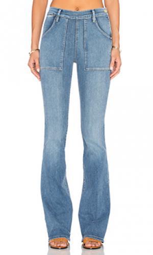 Расклешенные джинсы le flare de francoise FRAME Denim. Цвет: none