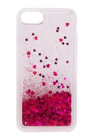 Чехол для iPhone 7 Marc Jacobs. Цвет: фуксия