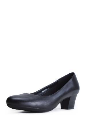 Туфли женские Alessio Nesca. Цвет: черный