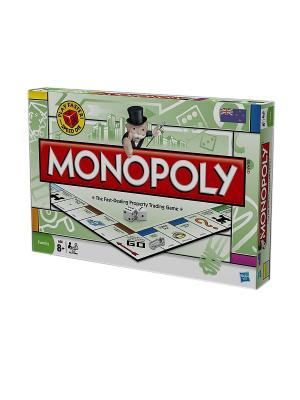 Игра Монополия Hasbro. Цвет: красный, зеленый
