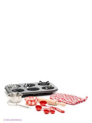 Набор посуды для выпечки Я сама 1Toy. Цвет: розовый