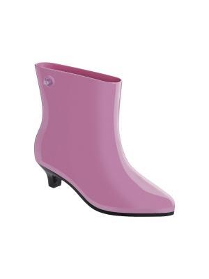 Резиновые сапоги Melissa. Цвет: розовый