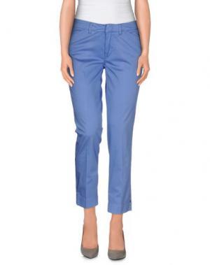 Повседневные брюки ANGELO MARANI. Цвет: пастельно-синий