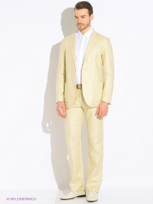 Пиджак ABSOLUTEX. Цвет: кремовый, бледно-розовый, персиковый