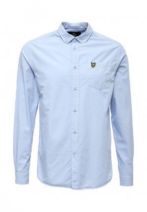 Рубашка Lyle & Scott. Цвет: голубой