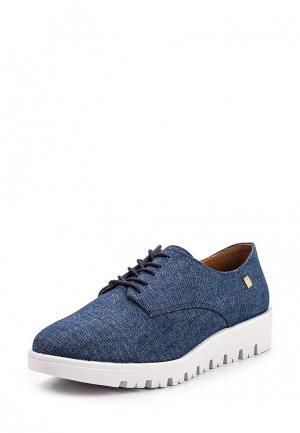 Ботинки Loucos & Santos. Цвет: синий