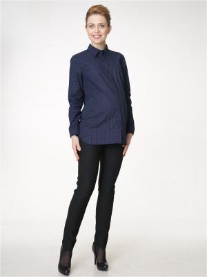 Рубашка Budumamoy. Цвет: темно-синий