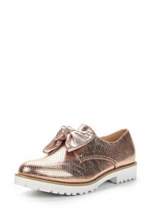 Ботинки Fersini. Цвет: золотой