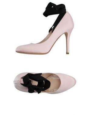 Туфли LISA C BIJOUX. Цвет: розовый