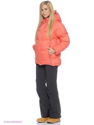 Куртка HALTI. Цвет: коралловый