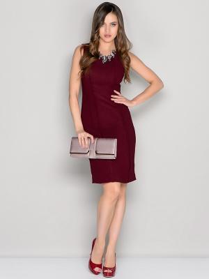 Платье Stets. Цвет: бордовый