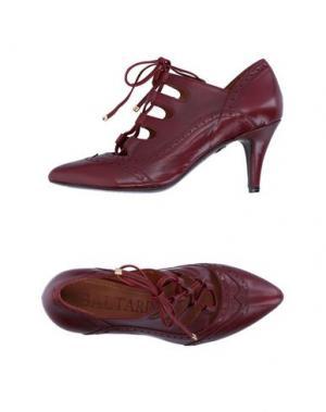 Туфли BALTARINI. Цвет: красно-коричневый