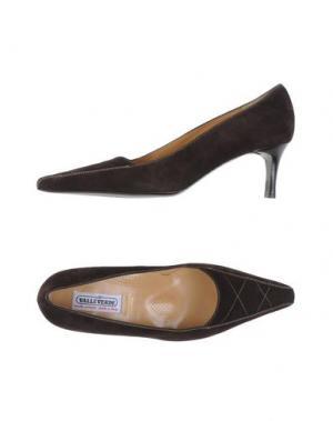 Туфли VALLEVERDE. Цвет: темно-коричневый