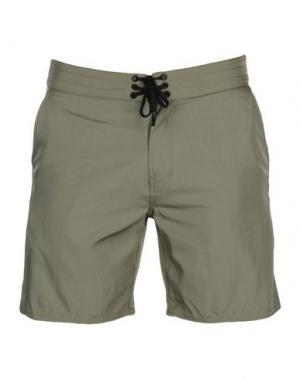 Пляжные брюки и шорты OUTERKNOWN. Цвет: зеленый-милитари