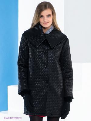 Пальто Say. Цвет: черный