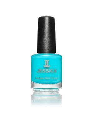 Лак для ногтей  # 793 Argon Blue, 14,8 мл JESSICA. Цвет: серо-голубой