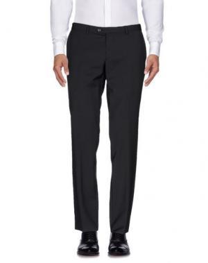 Повседневные брюки CALVARESI. Цвет: стальной серый