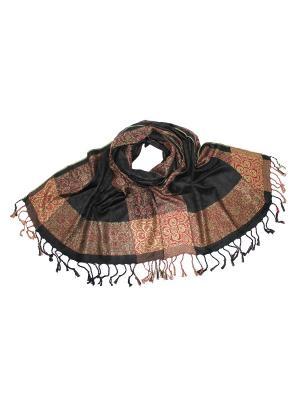 Платок Ethnica. Цвет: черный, оливковый